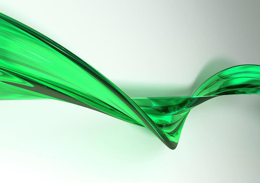 Digital 3d Lightscape Digital Art by Don Bishop