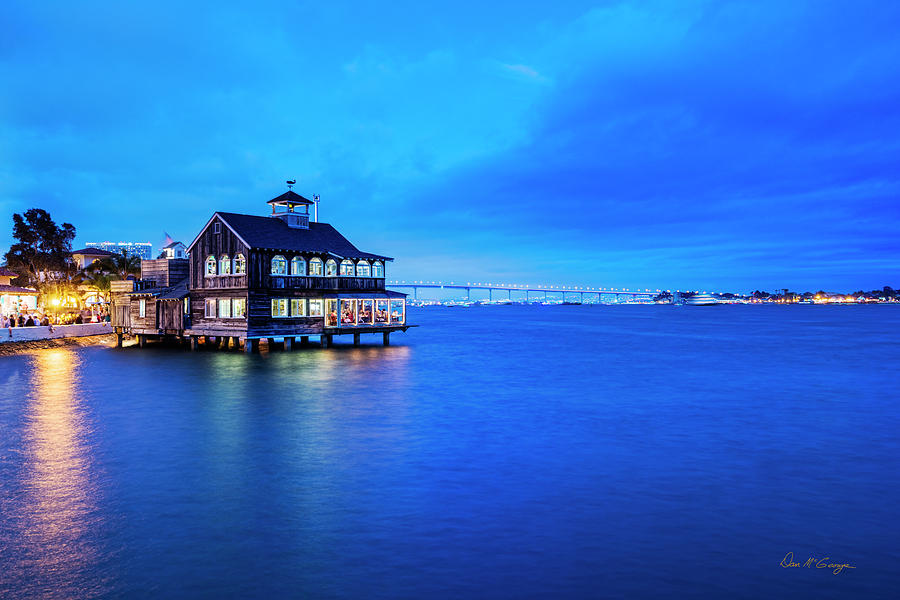 Dinner on the Bay by Dan McGeorge