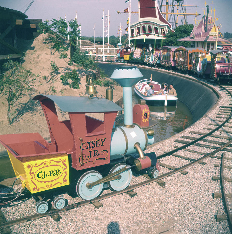 Disneyland Opening Day, 1955 Photograph by Loomis Dean