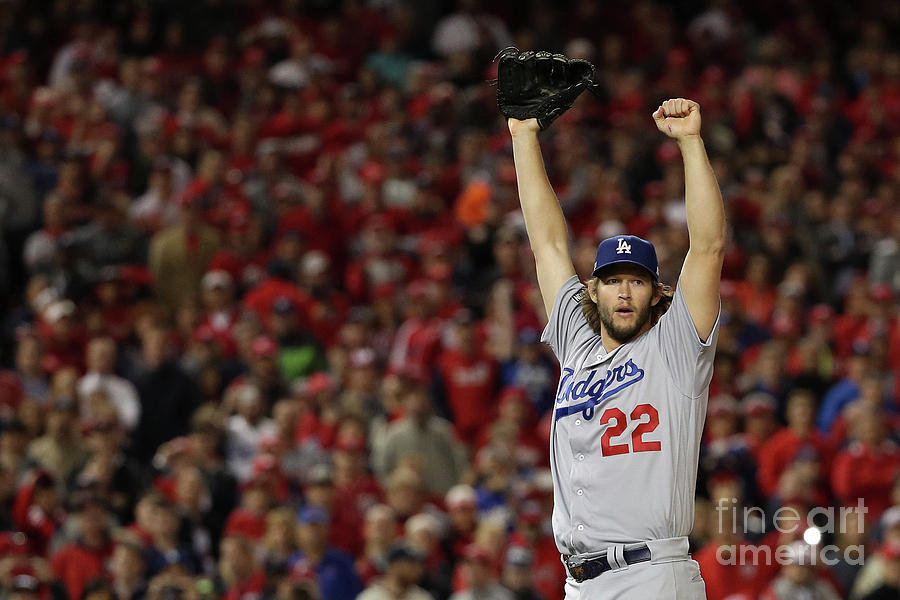 Division Series - Los Angeles Dodgers V Photograph by Patrick Smith
