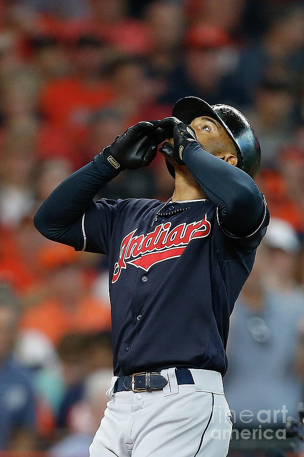 Divisional Round - Cleveland Indians V Photograph by Bob Levey