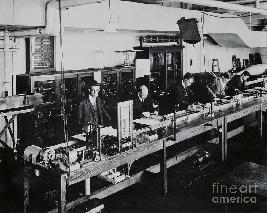 Doctor Vannevar Bush Busy At Work Photograph by Bettmann