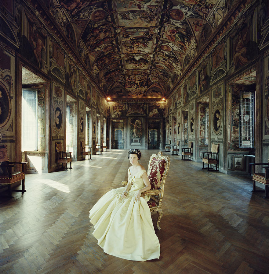 Domitilla Ruspoli Photograph by Slim Aarons