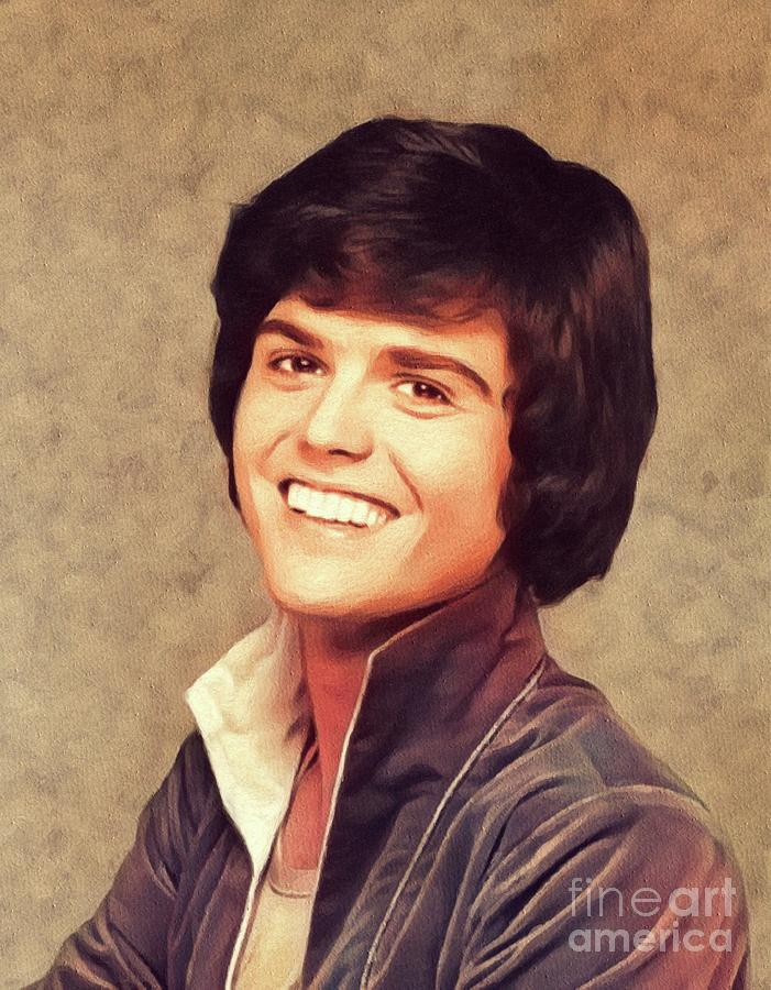 Donny Osmond, Singer/actor Painting