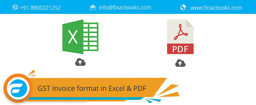 Download Gst Invoice Format In Excel And Pdf 1