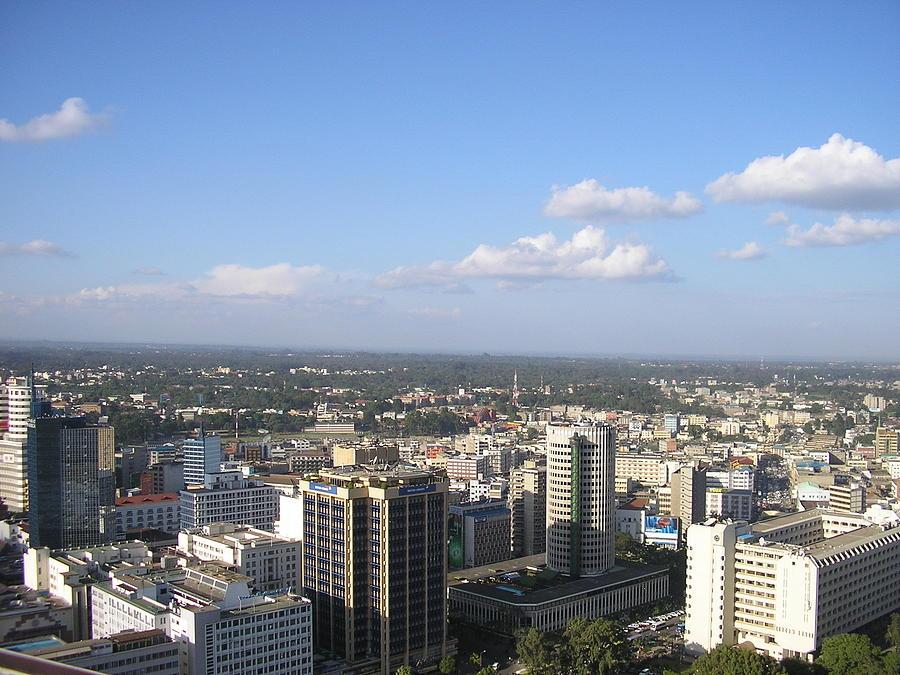 Downtown Nairobi, Kenya Photograph by Kevin Donegan