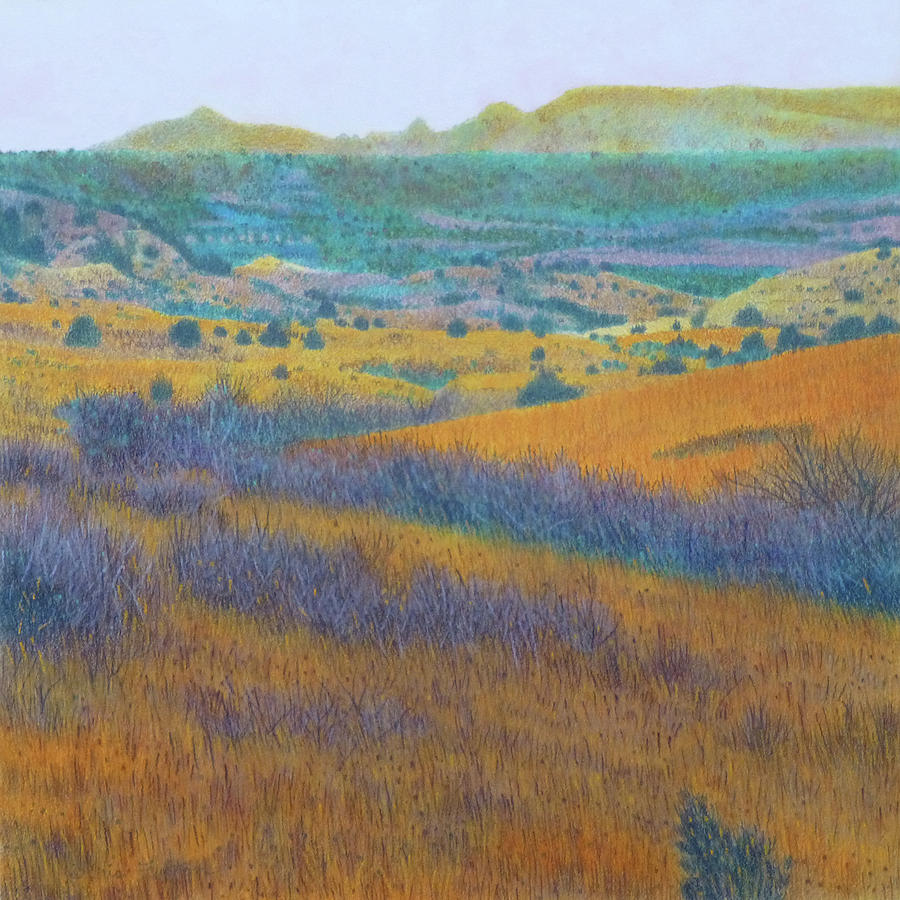 North Dakota Painting - Dream Of West Dakota by Cris Fulton