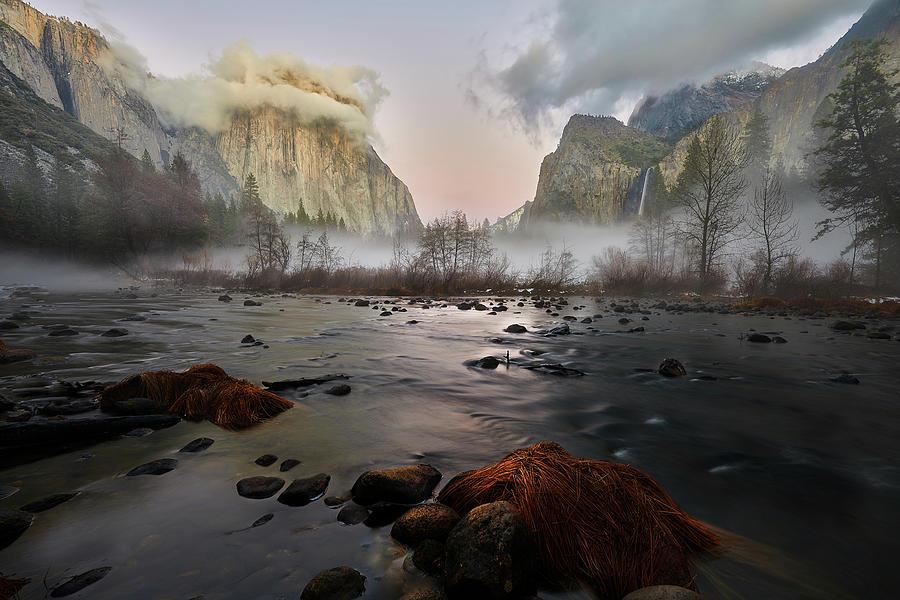 Dusk in Yosemite by Jon Glaser