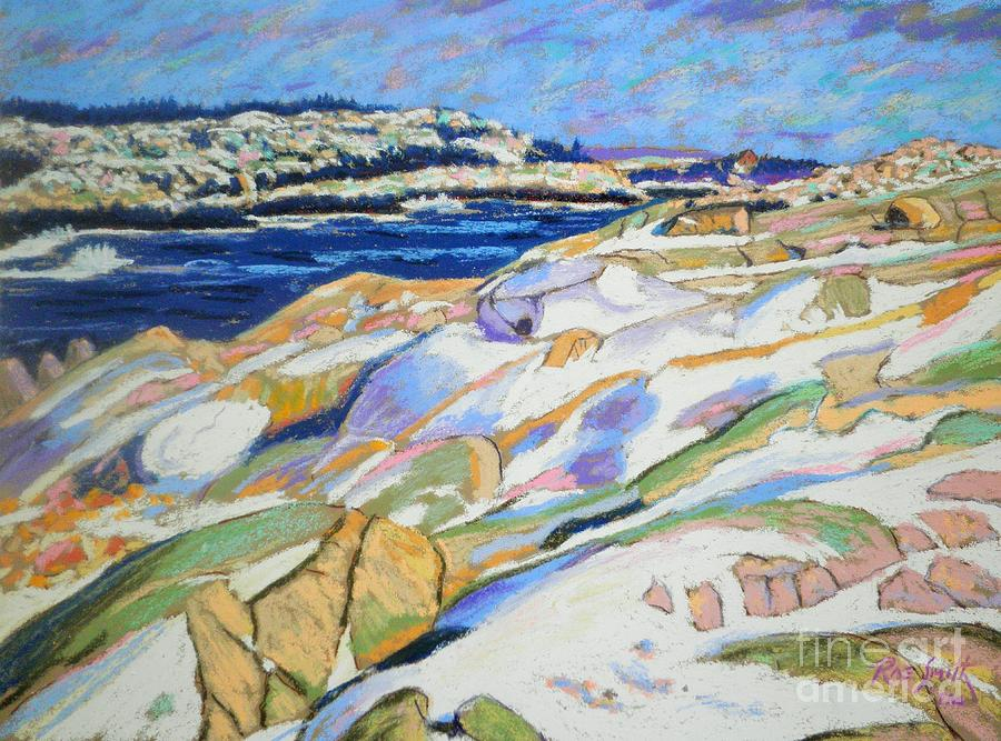 East of Peggy's Cove  by Rae  Smith PAC
