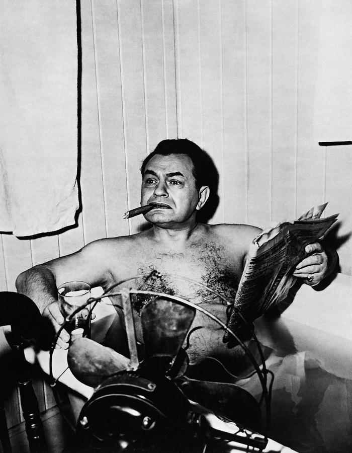 EDWARD G. ROBINSON in KEY LARGO -1948-. Photograph by Album