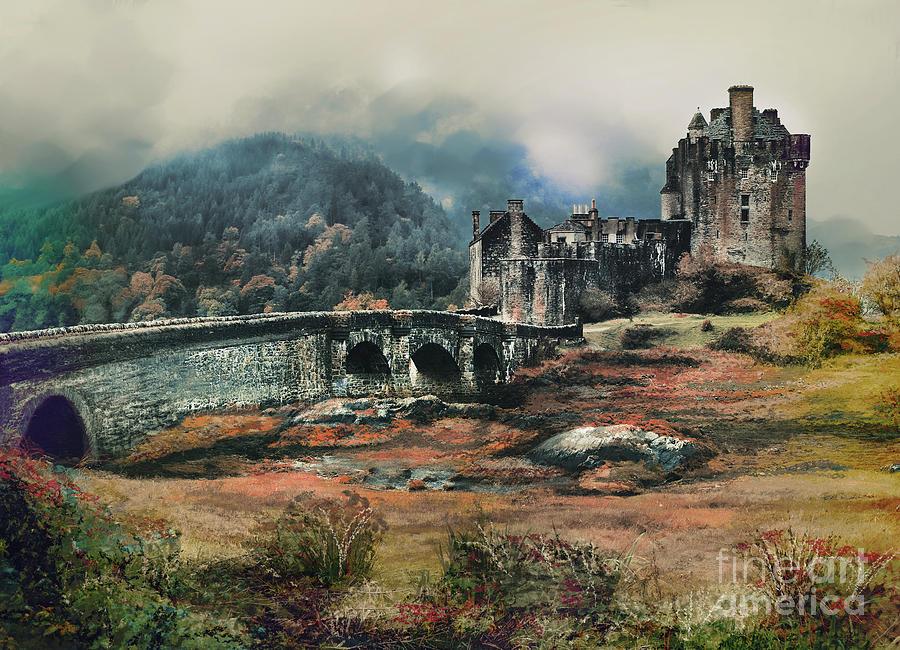 Eilean Donan Castle. by Andrzej Szczerski