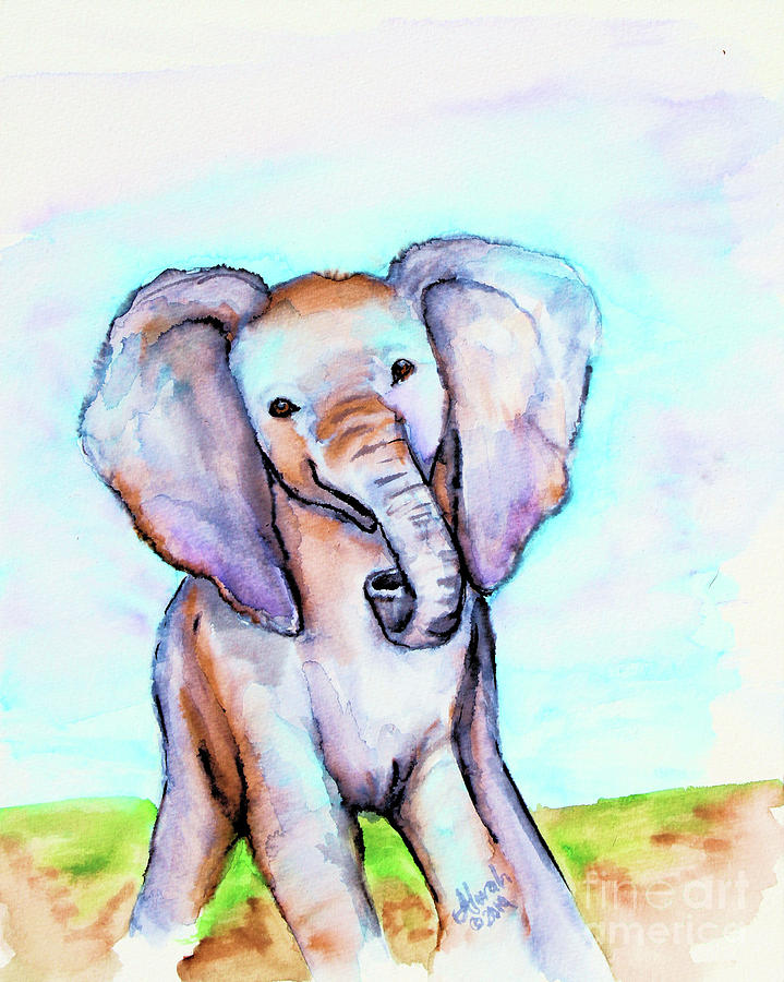 elephant by Alorah Tout