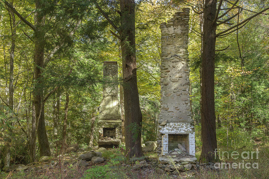 Elkmont Chimney Remains 5 Photograph By Mike Eingle
