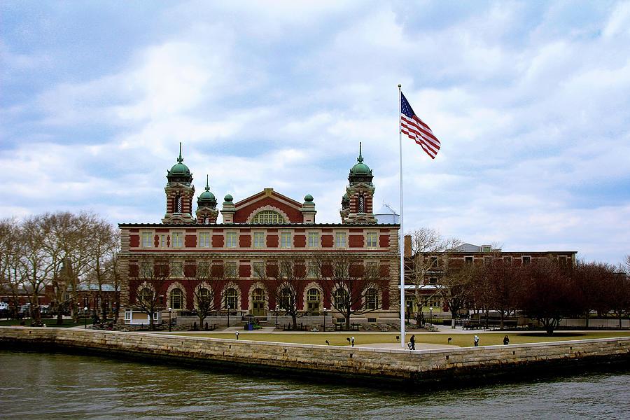 Ellis Island by Doc Braham
