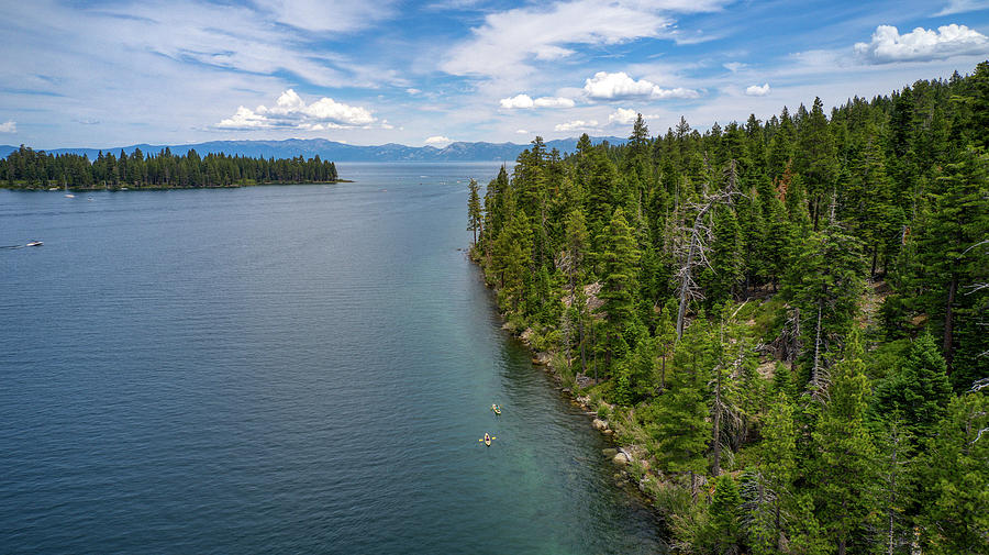 Emerald Bay Lake Tahoe by Ants Drone Photography