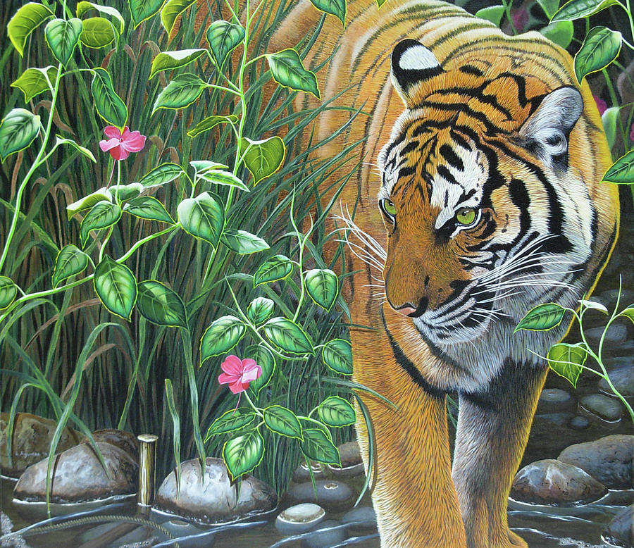 Endangered Painting - Endangered by Luis Aguirre
