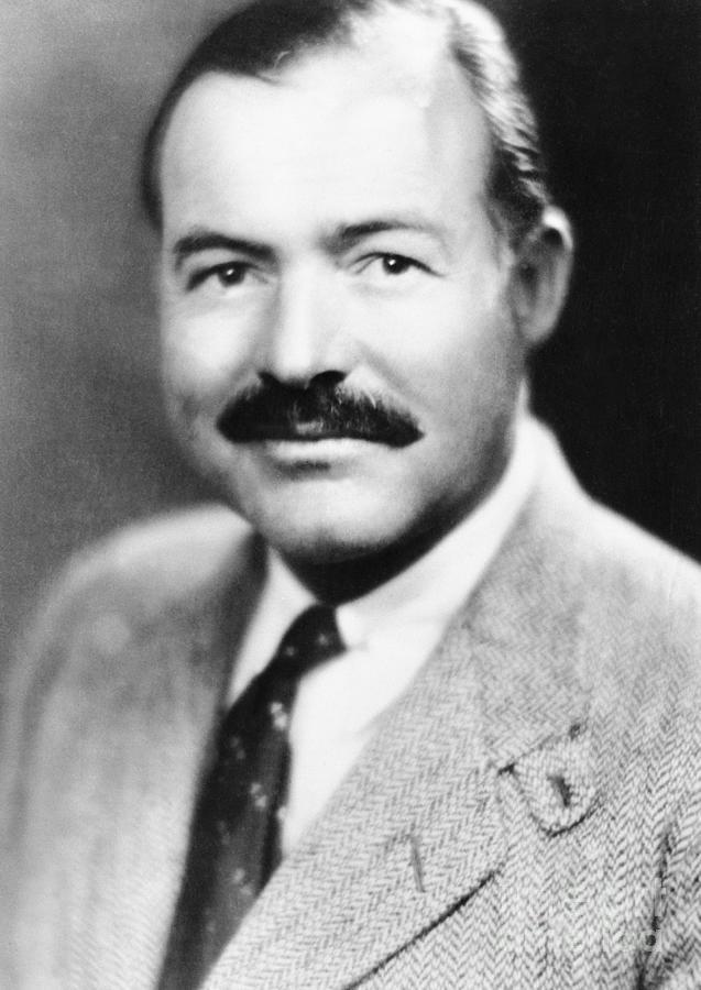 Ernest Hemingway Photograph by Bettmann