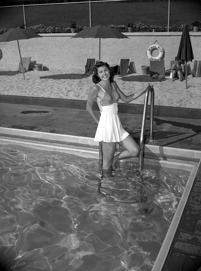 Esther Williams At The Beverly Hills