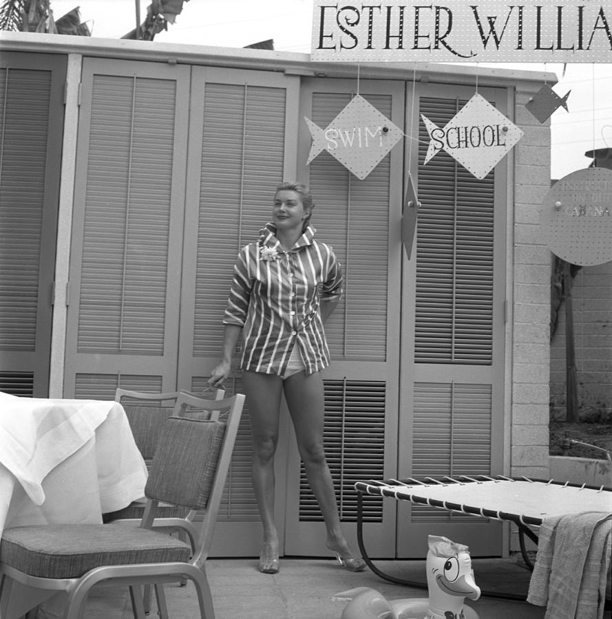 Esther Williams Photograph by Michael Ochs Archives