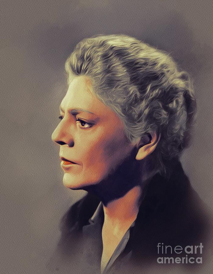 Ethel Barrymore, Vintage Actress by John Springfield
