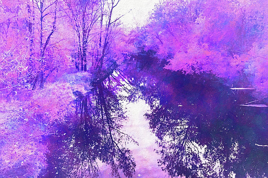 Ethereal Water Color Blossom by Reynaldo Williams