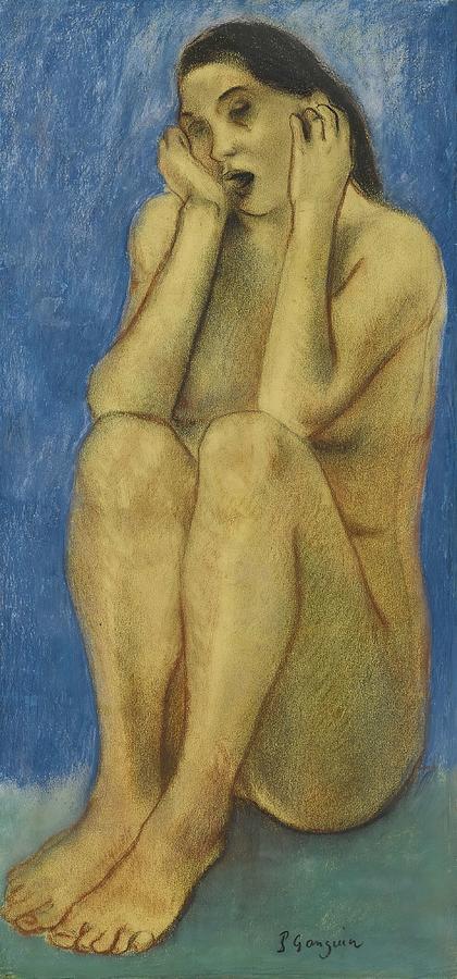 Eve Bretonne  Ii   by Paul Gauguin