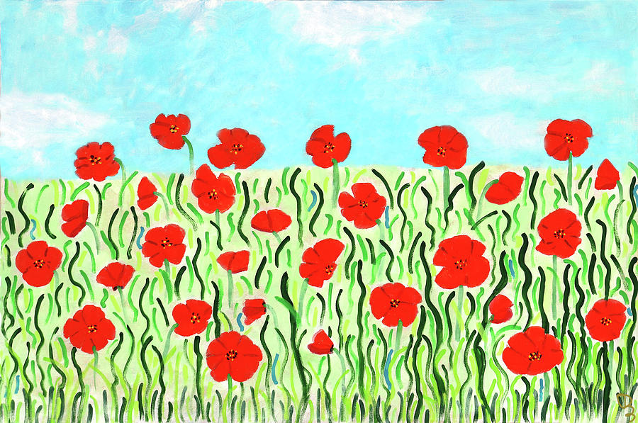 Everythings Popping Up Poppies by Deborah Boyd