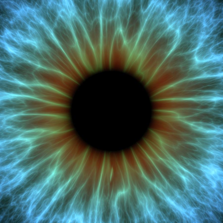 Eye, Iris Digital Art by Pasieka