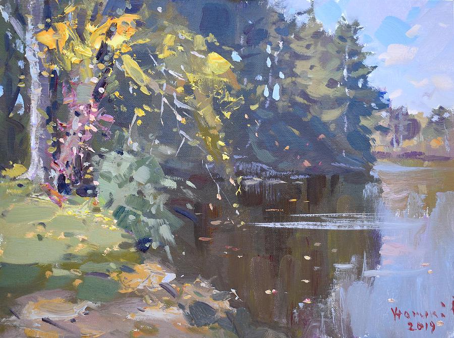 Fall at Bond Lake Park by Ylli Haruni