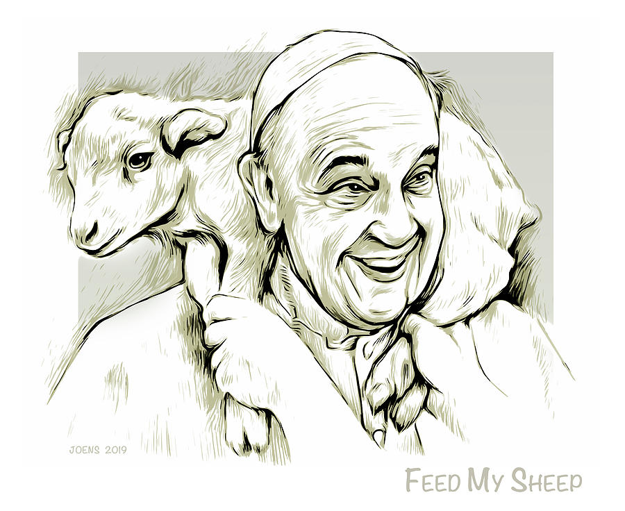 feed my sheep by Greg Joens