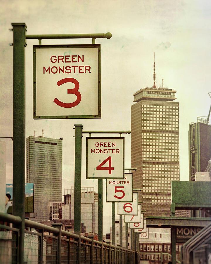 Fenway Park Green Monster Seats by Joann Vitali