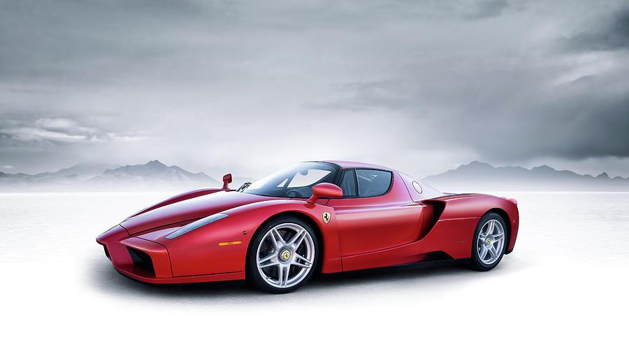Ferrari Digital Art - Ferrari Enzo by Douglas Pittman