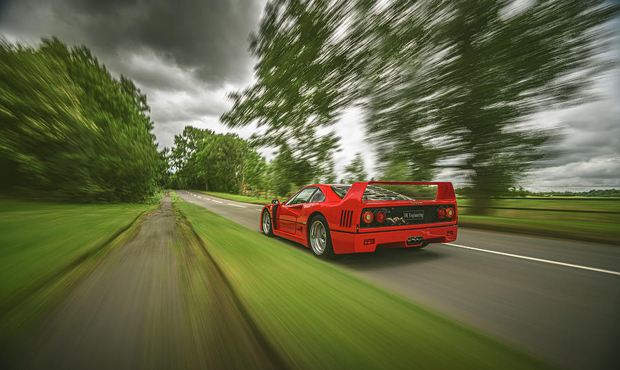 Ferrari F40 by George Williams