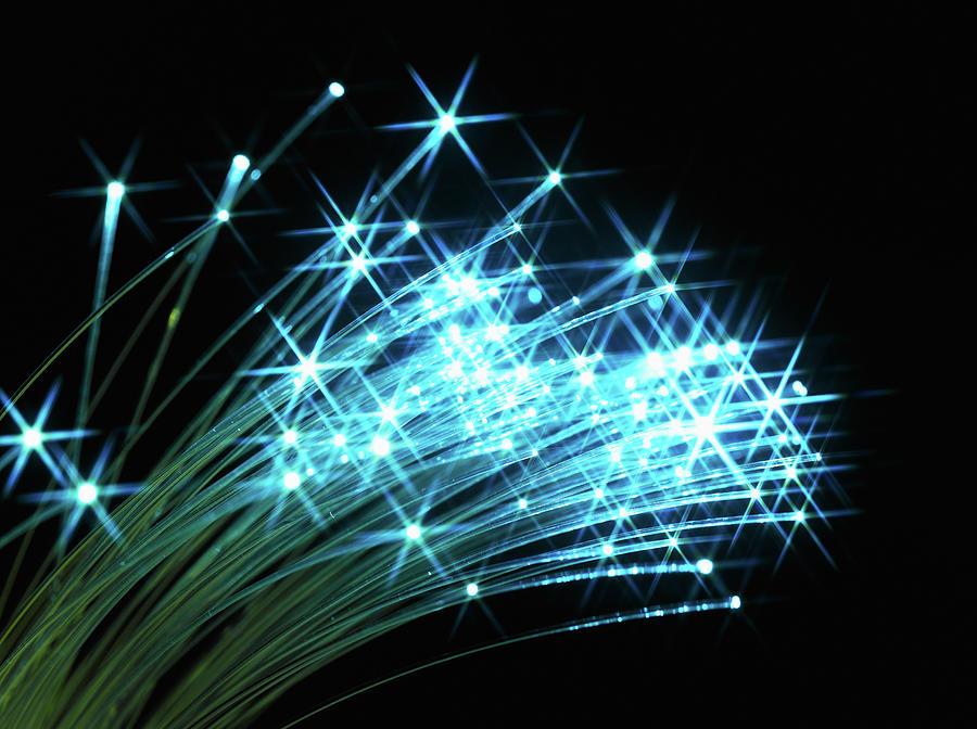 Fiber Optic Cables Photograph by Jeffrey Hamilton