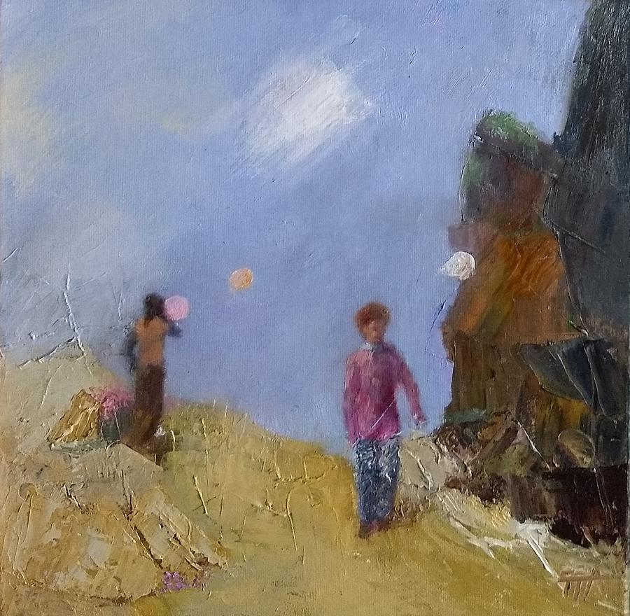 Field Trip With Balloons by Irena Jablonski