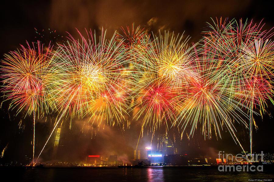Firework 2019 Mixed Media