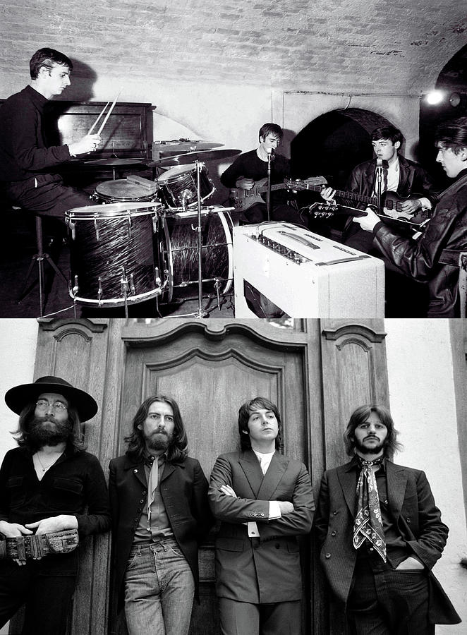 First and Last Photo of all 4 Beatles Together by Doc Braham