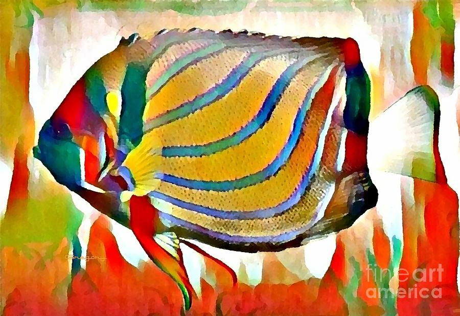 Fish of Color by Greg Moores