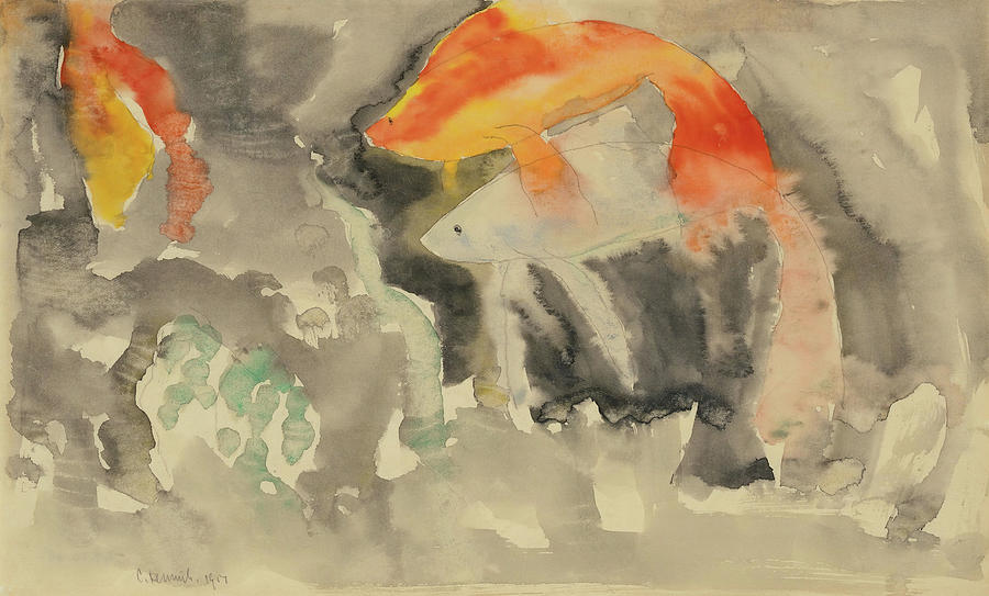 Fish Series, No. 5. by Charles Demuth