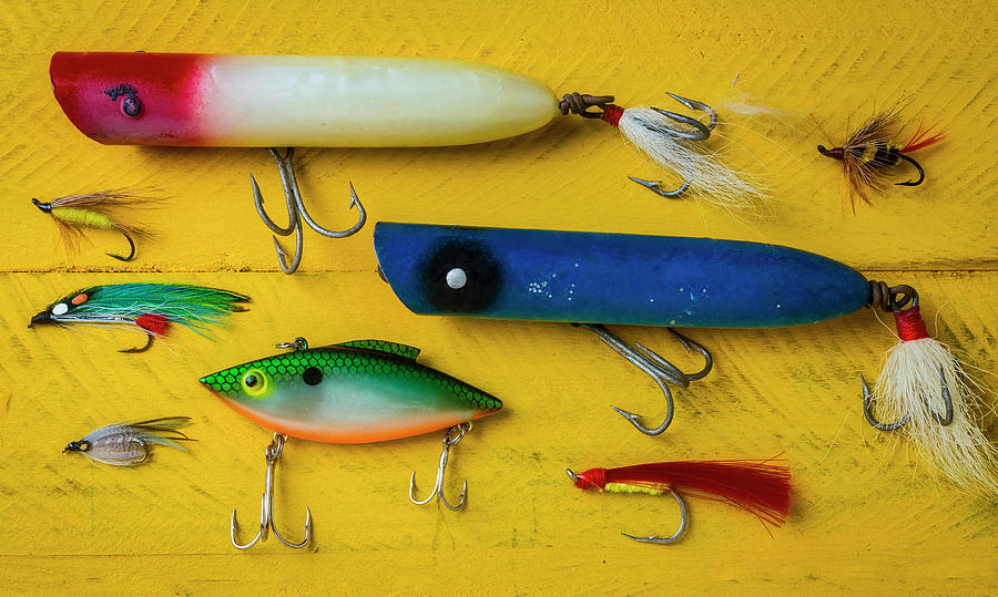 Fishing Lures by Garry Gay