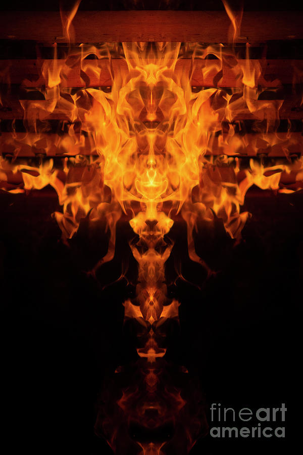 Flames by Angel Ciesniarska