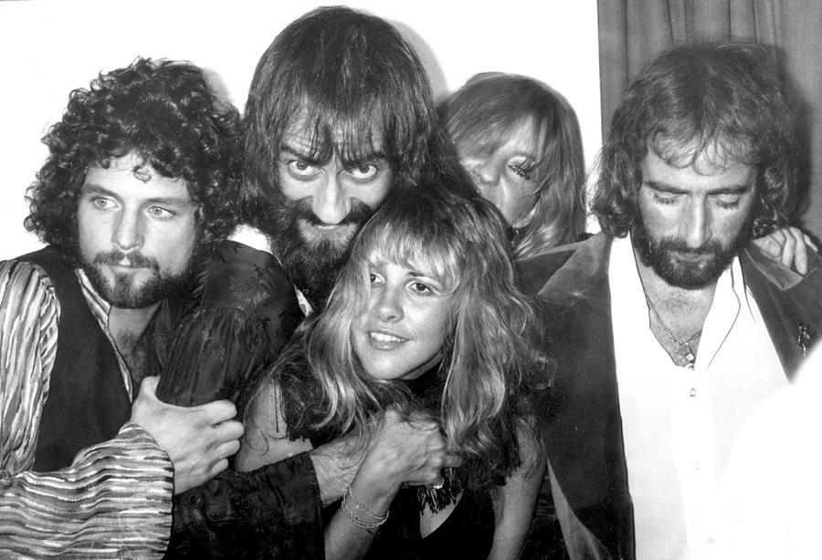 Fleetwood Mac Portrait Photograph by Michael Ochs Archives