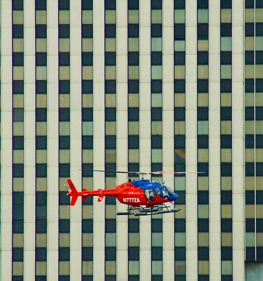 Helocopter Photograph - Flight by Gillis Cone