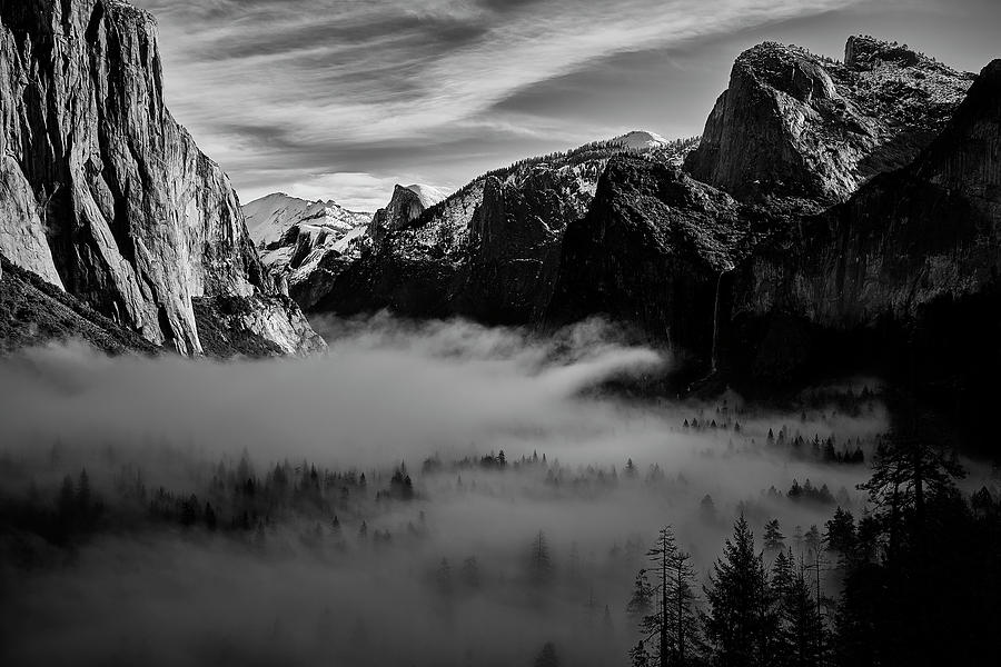 Fog in Yosemite by Jon Glaser