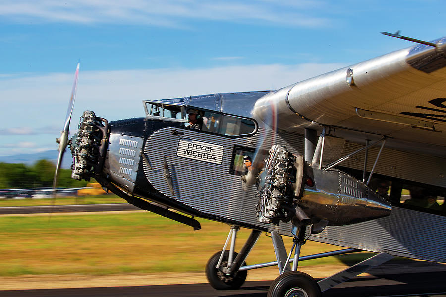 Ford Tri-Motor Airplane by Dart Humeston