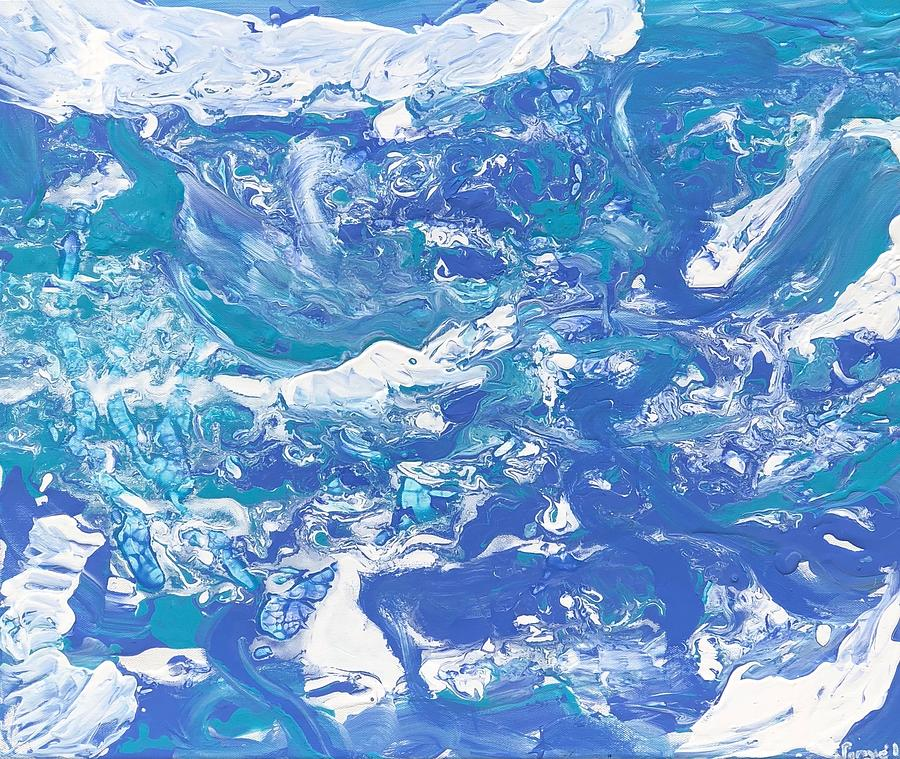 Formless  Edition 5 Painting by Sonye Locksmith