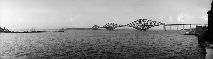 Forth Bridge Photograph by Alfred Hind Robinson