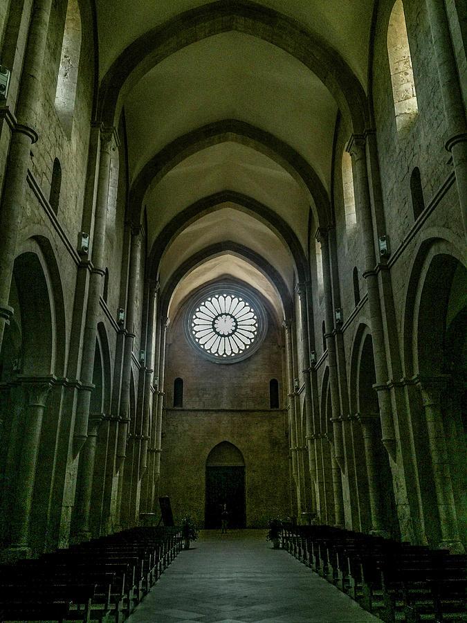 Churches Photograph - Fossanova by Joseph Yarbrough