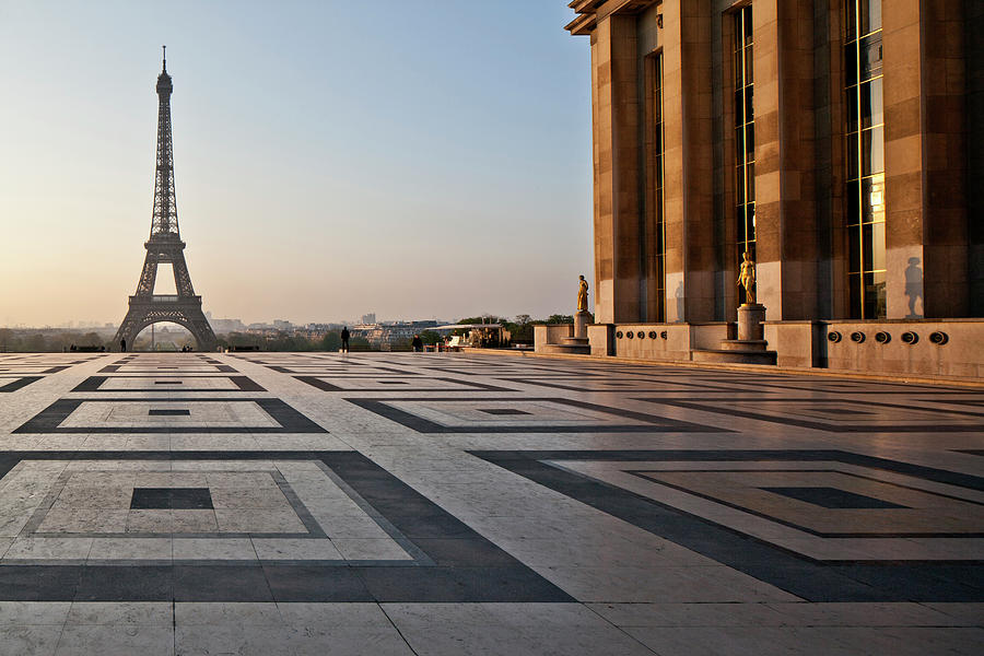 France, Paris, Place Du Trocadero And 1 Photograph by Barrere Jean-marc / Hemis.fr