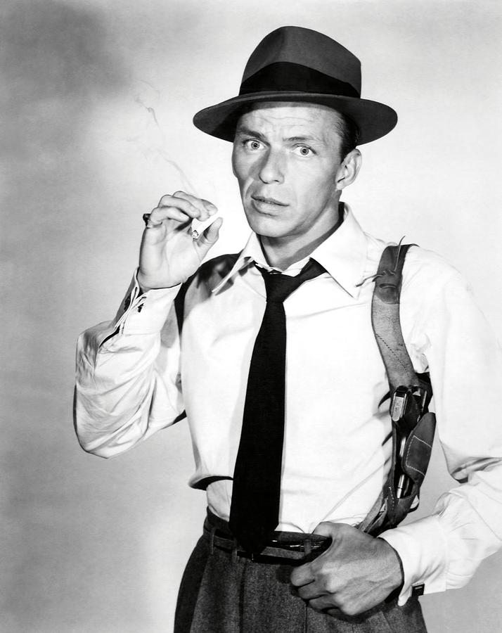 FRANK SINATRA in SUDDENLY -1954-. Photograph by Album